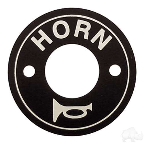 Horn Decal, Floor Mount