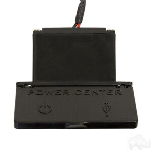 Power Center, 12 Volt Outlet with Dual USB Ports