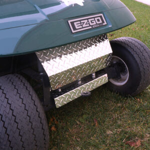 Axle Cover, Diamond Plate, E-Z-Go TXT