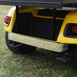 Rear Bumper Cover, Diamond Plate, E-Z-Go TXT 01+