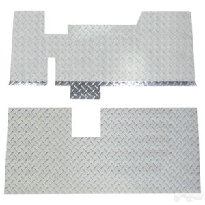 Floor Cover, Diamond Plate, E-Z-Go TXT 01.5-13