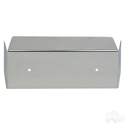 Front Bumper Cover, Stainless Steel, Club Car DS
