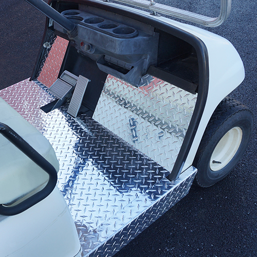 Floor Cover, Diamond Plate, Yamaha G14-G22