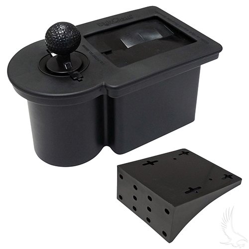 Ball Washer, Black, Universal Mount
