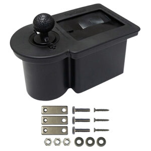 Ball Washer Black, with Brackets for RXV or Universal Fender Mount