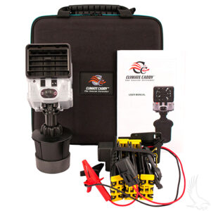 Climate Caddy Heater/Fan w/ Hard Mount and Harness for 48v Vehicles