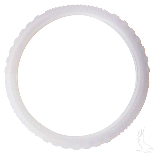 Steering Wheel Cover, Rubber Universal, Clear