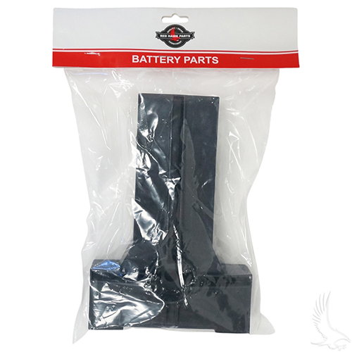 Battery Hold Down Plate, Club Car Precedent 08.5+ w/ 8V Batteries