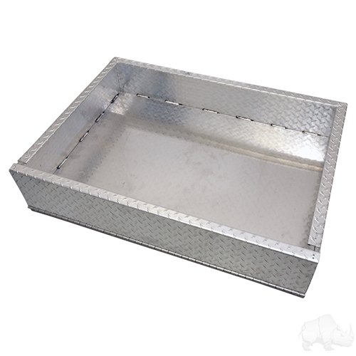 Aluminum Utility Box w/ Mounting Kit, Club Car DS