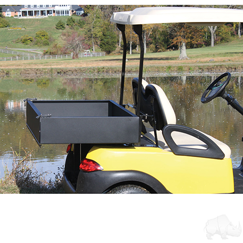 Steel Utility Box w/ Mounting Kit, Club Car Precedent