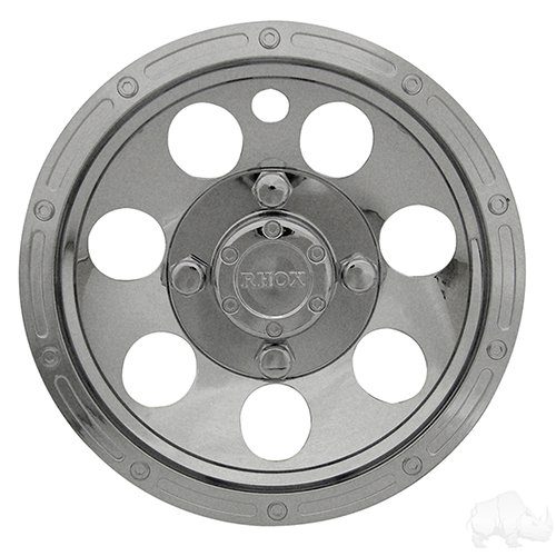 "Wheel Cover, 10"" Beadlock A/T Chrome"