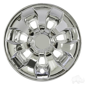 "Wheel Cover, 8"" Driver Chrome"