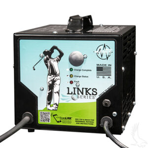 Battery Charger, Lester 36V/21A Links Series with Crowsfoot Plug