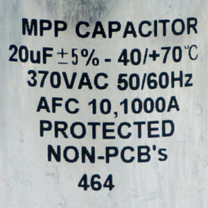 Capacitor, PowerWise Charger
