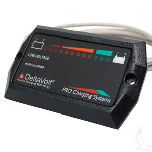 Charge Meter, 36V Dual Pro Horizontal with Mounting Tabs