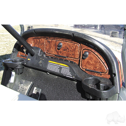 Dash, Dark Woodgrain, Club Car Precedent 2004-2008.5