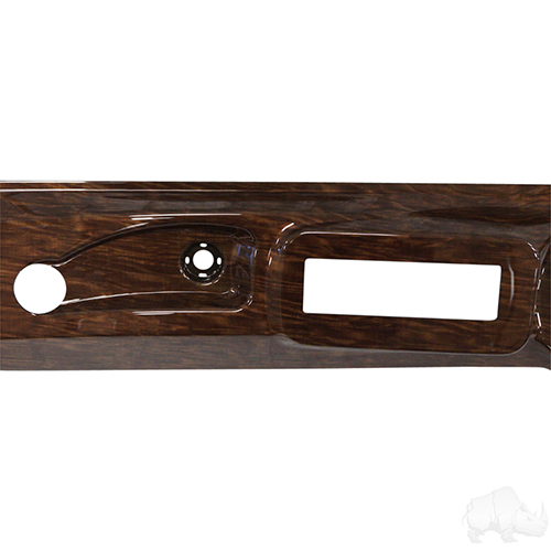 Dash, Deluxe with Radio/Speaker Cutout, Curly Maple, Club Car DS