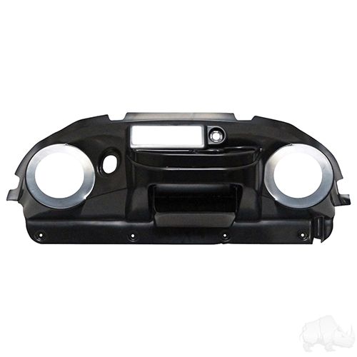 Dash, Deluxe with Radio/Speaker Cutout, Paintable ABS, Club Car Precedent