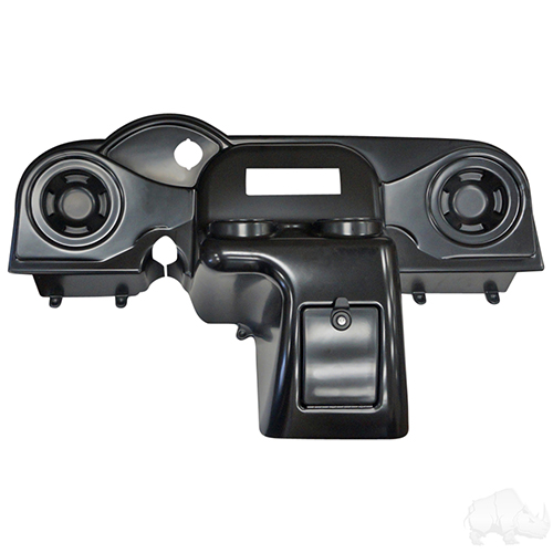 Dash, Deluxe with Radio Cutout and Speaker Indentations, Paintable, E-Z-Go RXV