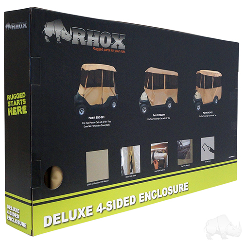 Enclosure, Deluxe 4 sided Tan