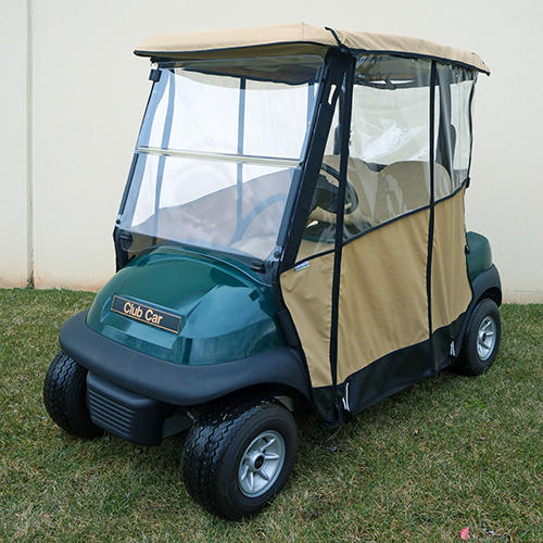 Odyssey Enclosure Beige, Over the top, Club Car Precedent