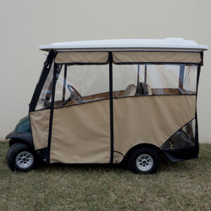 "Odyssey Enclosure, 88"" RHOX Top, Beige, Club Car Precedent with Rear Seat"