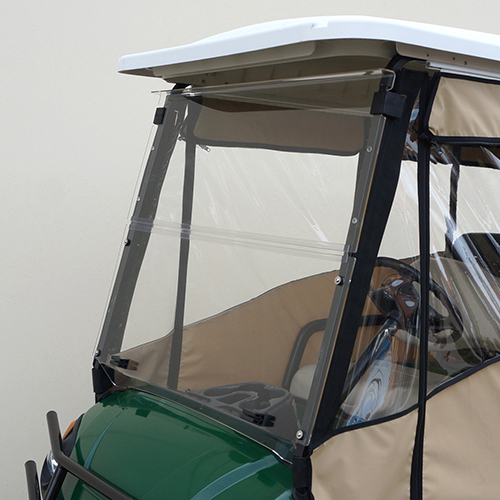 "Odyssey Enclosure, 88"" RHOX Top, Beige, Yamaha Drive with Rear Seat"