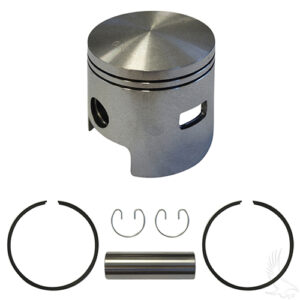 Piston and Ring Assembly, One Port +.50mm, E-Z-Go 2-cycle Gas 80-88