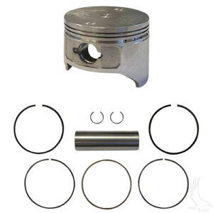 Piston and Ring Set, +.25mm, E-Z-Go 4-cycle Gas 92+ 350cc