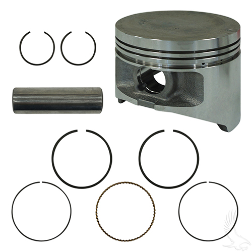 Piston and Ring Assembly, Standard, Yamaha G22, G29 Gas 03+