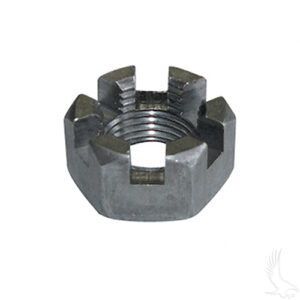 """Slotted Nut, Axle, 5/8""""-18, BAG OF 10, E-Z-Go"""