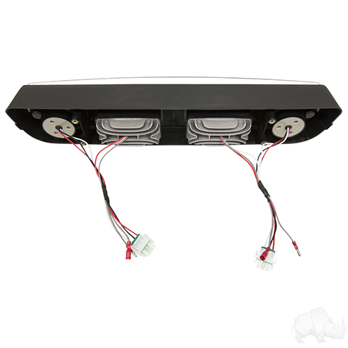 LED Headlight Bar, E-Z-Go Medalist/TXT 94-13 with Adapters for use with Factory Harness