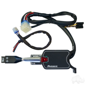 Turn Signal Switch with Horn Button, 7 Wire