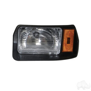 Headlight Assembly, Driver, Club Car DS 93+