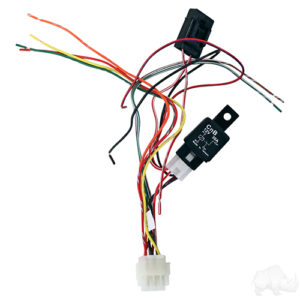 Turn Signal Assembly w/ Flasher, Horn button & Harness