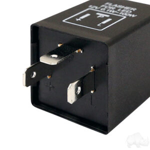 Electronic Flasher, 3 Prong, Low Draw