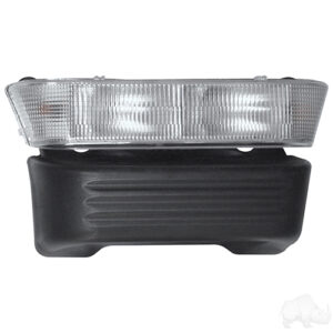 Headlight Bar and Bumper Only, OE Replacement, Club Car Precedent Electric