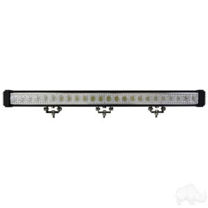"Light Bar, LED, 33"", Flood, 12-24V 72W 5400 Lumen"
