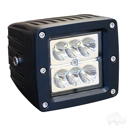 "Utility Spotlight, LED, 3.25"", 12-24V, 24W, 1500 Lumens"