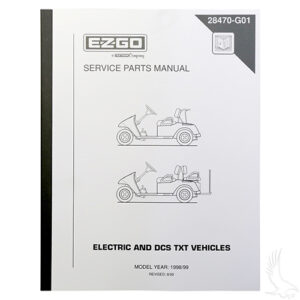 Service Manual, E-Z-Go DCS Electric 98-99