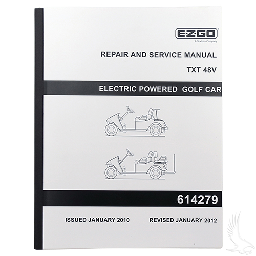 Service Manual, E-Z-Go TXT Electric 48V