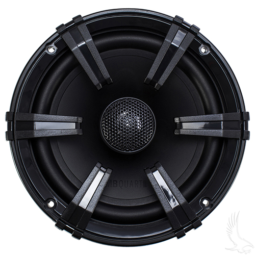 "MB Quart, 6.5"" SET OF 2 Moisture Resistant Speakers, 70 Watt Aluminum Dome Tweeter"