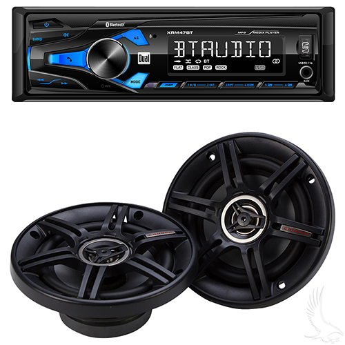 "Dual Receiver with 5.25"" Dual Speakers"