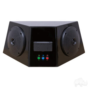 Universal Audio Center Enclosure with Bluetooth AMP, Power Center and Speakers