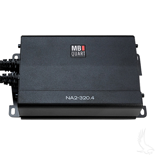 MB Quart, 4x80 Watt Compact Powersports Amplifier