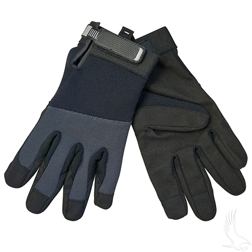 Mechanics Gloves, Light Duty, Large
