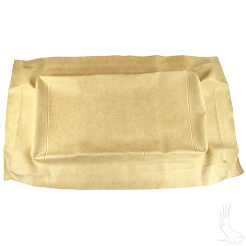 Seat Bottom Cover, Beige, Club Car Precedent