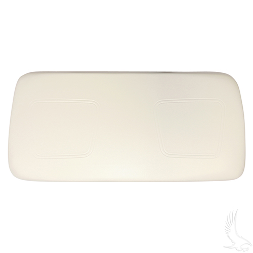 Seat Bottom Assembly, White, Club Car New Style 00+