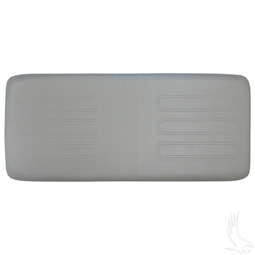 Seat Bottom Cushion, Dove Grey, Club Car Utility