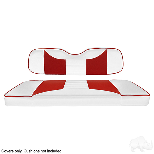 Cover Set, Super Saver Seat Kit, Rally White/Red, Universal